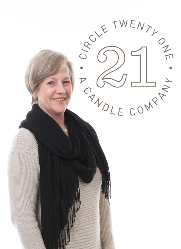 Circle 21 Candles
